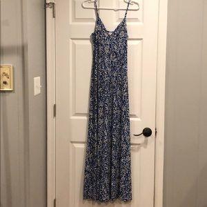 Michael kors floral maxi dress 4